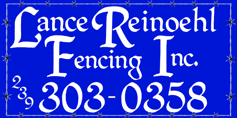 Fencing Quotes Brilliant Lance Reinoehl Fencing Inc Fence Quotesestimates Are Always